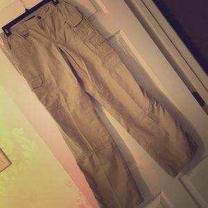 Women's 5.11 Tactical Pants Khaki 6 Long